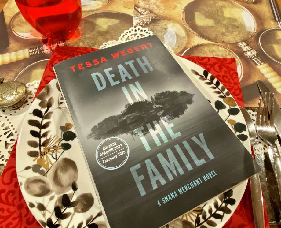 """Death in the Family"" is Tessa Wegert's debut novel. Photo: TinaMarie Craven / Hearst Connecticut Media /"