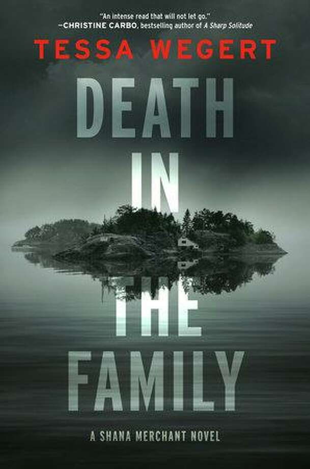 "Darien resident Tessa Wegert will have a reading and author Q&A to celebrate the publication of her debut mystery novel, ""Death in the Family"" on Feb. 18 at 7 p.m. at Barrett Bookstore, 6 Corbin Dr., Darien. For more information, visit barrettbookstore.com/event/tessa-wegert-death-family Photo: Penguin Randomhouse / Contributed Photo"