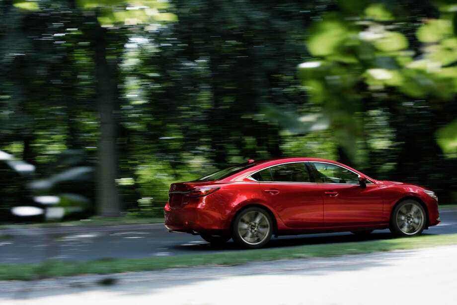 The 2019 Mazda6 is equipped with a turbocharged engine. Photo: Mazda Newsroom/ Contributed Photo