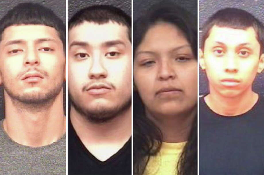 Four suspected street-level drug dealers landed behind bars in a couple of recent raids, according to the Laredo Police Department. Photo: Courtesy