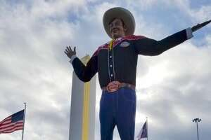 """Robert """"Bob"""" Boykin was the voice of Big Tex at the State Fair of Texas from 2013 to 2019."""