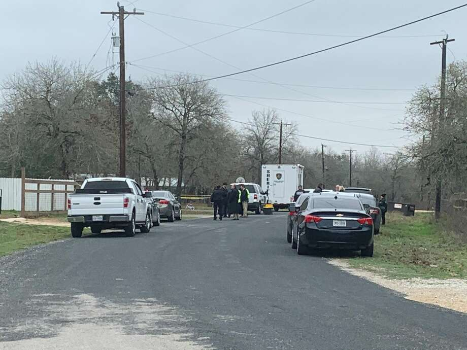 The Bexar County Sheriff's Office is investigating after a 6-year-old child found a relative dead Tuesday morning in South Bexar County, Sheriff Javier Salazar said. Photo: Taylor Pettaway