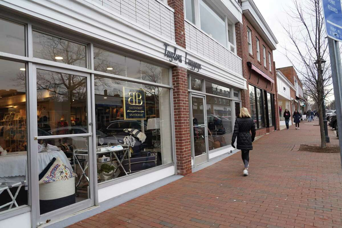 Taylor Luggage and Nantucket Monogram reopened in New Canaan on Wednesday Feb. 5 at 8 Elm St., and are sharing a space. Nantucket Monogram moved from Morse Court, behind the new space.