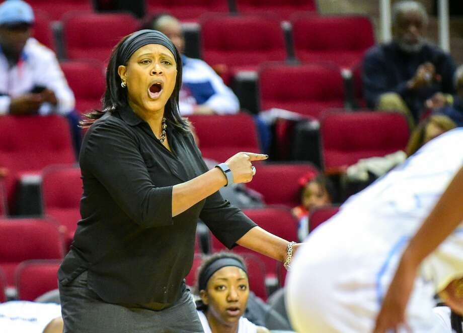 Prairie View A&M women's basketball coach Sandy Pugh coached at Southern University for 18 seasons. (Photo by Ken Murray/Icon Sportswire/Corbis/Icon Sportswire via Getty Images) Photo: Icon Sports Wire/Corbis/Icon Sportswire Via Getty