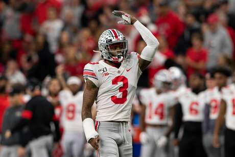 John McClain has Ohio State cornerback Damon Arnette pegged to go to the Texans in the second round in his latest mock draft.