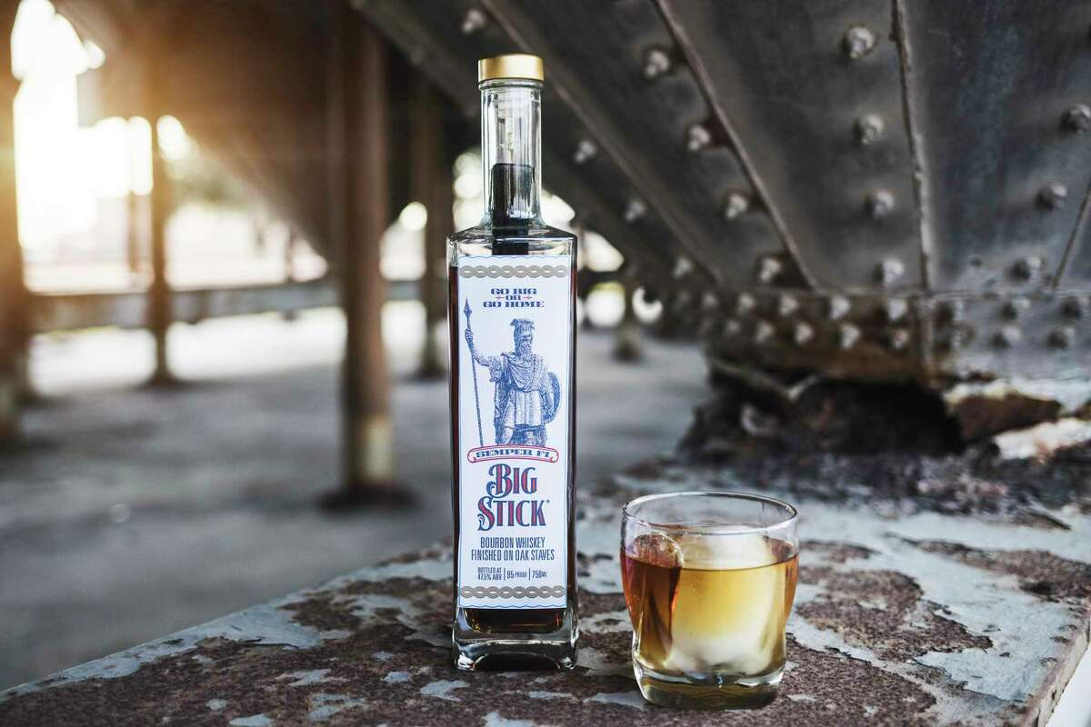 Katy-based Semper Fi Big Stick Bourbon uses an oak stake to create a unique flavor profile.