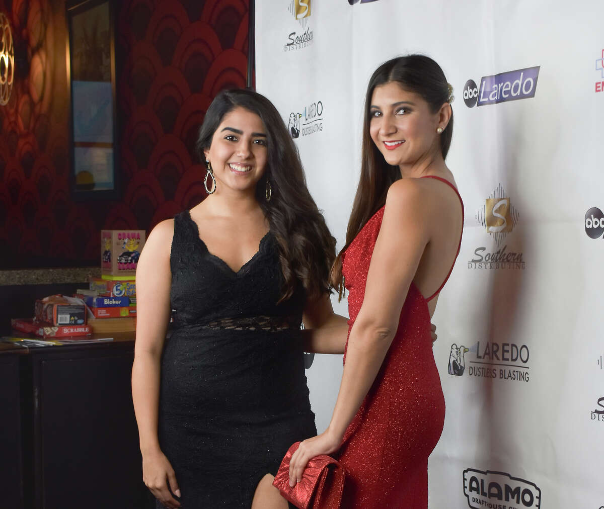 Laredoans walked the red carpet at the Alamo Drafthouse during the Laredo Film Society's 'A Night in Hollywood' Oscars watch party. The event was held in partnership with ABC-Laredo.