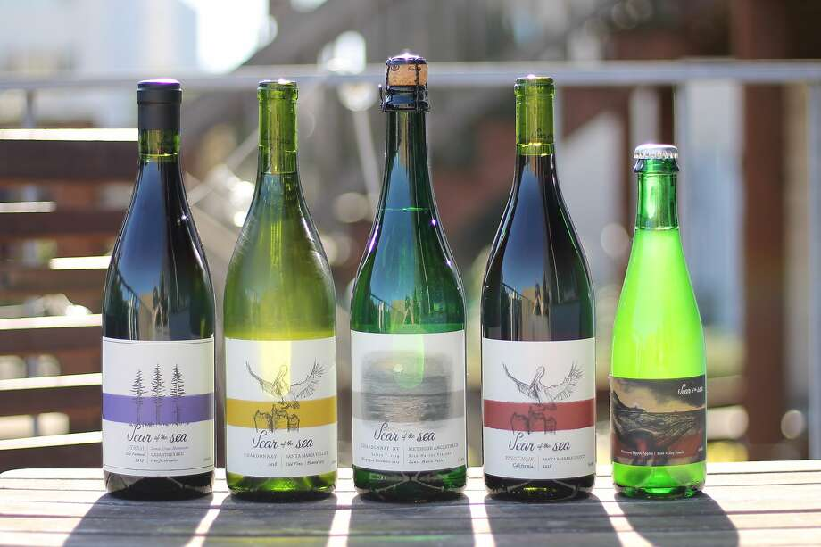 The wines of Scar of the Sea Photo: Esther Mobley / The Chronicle