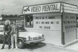 Jackie and Tom Minkel. May 1986