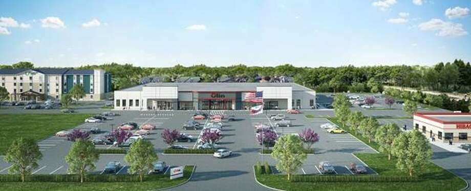 Olin Corp. will renovate a 62,500-square-foot building on Highway 332 in Lake Jackson. Photo: Osborn / MZ-CG