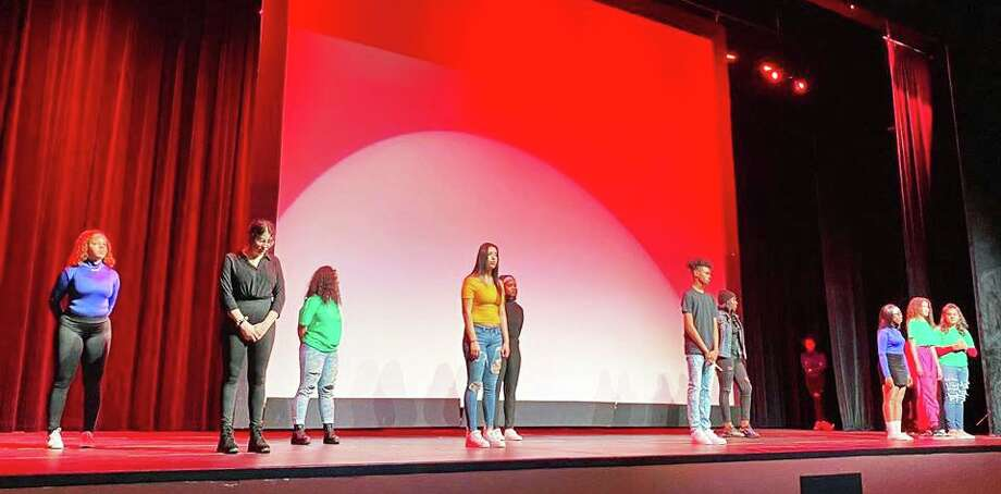 The Middletown High School Minority Student Coalition presented a multimedia BlackHistoryMonthprogram Feb. 5 during which students expressed their honest accounts of how racism has touched their lives through dance, poetry, spoken work and other methods. Photo: Mayor Ben Florsheim Photo