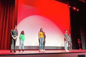 The Middletown High School Minority Student Coalition presented a multimedia BlackHistoryMonthprogram Feb. 5 during which students expressed their honest accounts of how racism has touched their lives through dance, poetry, spoken work and other methods.