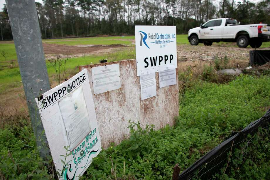 Harris County is moving closer to buying land where a subdivision had been planned. Photo: Savannah Mehrtens/Staff Photo / Savannah Mehrtens/Staff Photo
