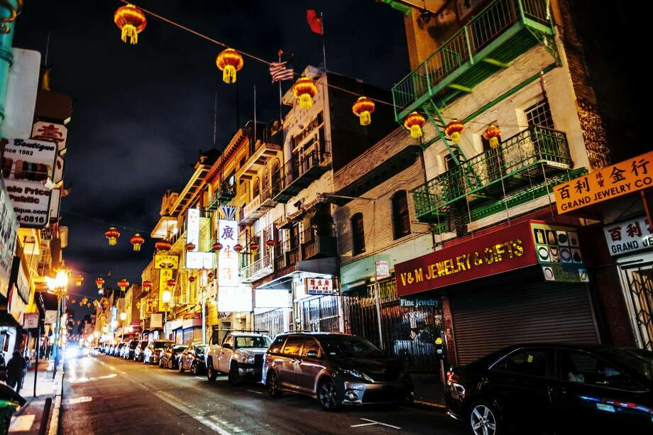 FILE - A photo of Chinatown at night. Neighborhood proprietors are concerned that the fear of coronavirus is affecting business. Photo: Peeterv/Getty Images/iStockphoto