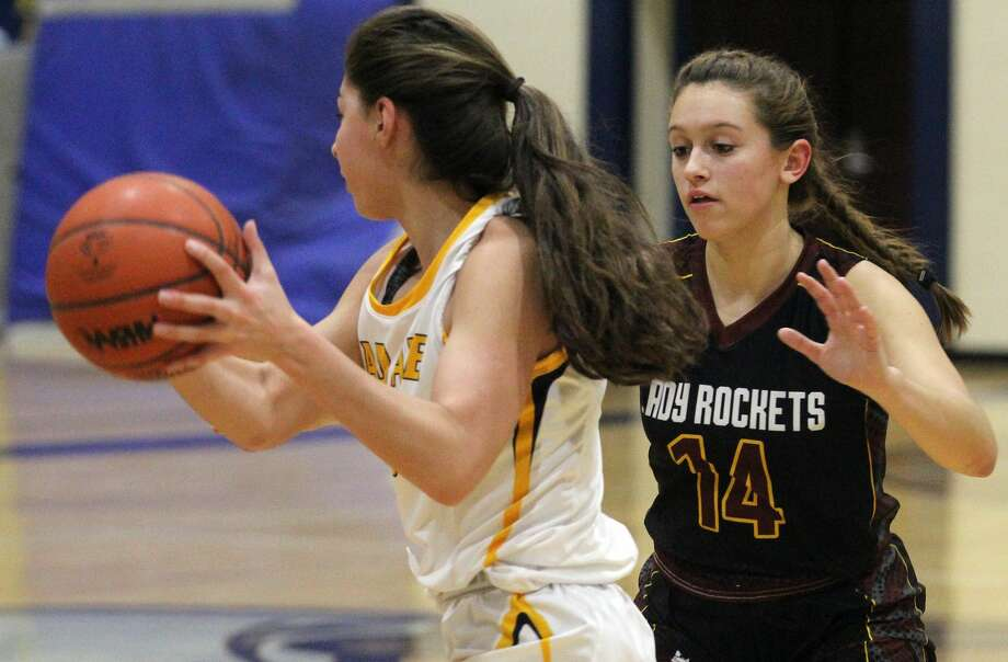 The Lady Rockets of Reese beat host Bad Axe, 65-37, on Tuesday night. Photo: Mark Birdsall/Huron Daily Tribune