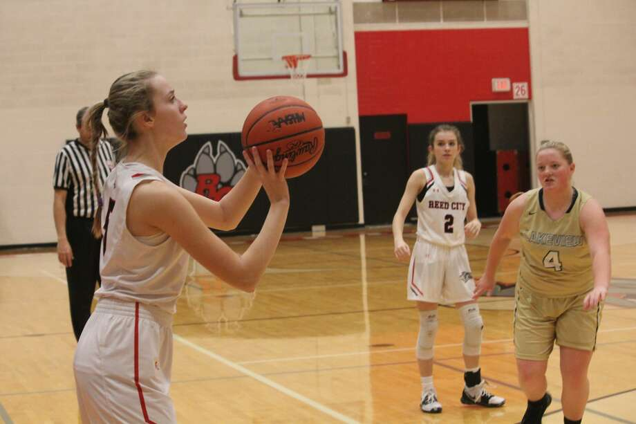 Reed City's girls basketball team was dominant in a 74-11 win over Lakeview on Tuesday. Photo: John Raffel