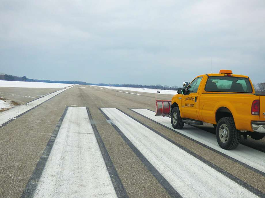 Manistee County Blacker Airport has plans to lengthen its short runway by using an additional piece of property it purchased in 2018. Photo: Scott Fraley/News Advocate