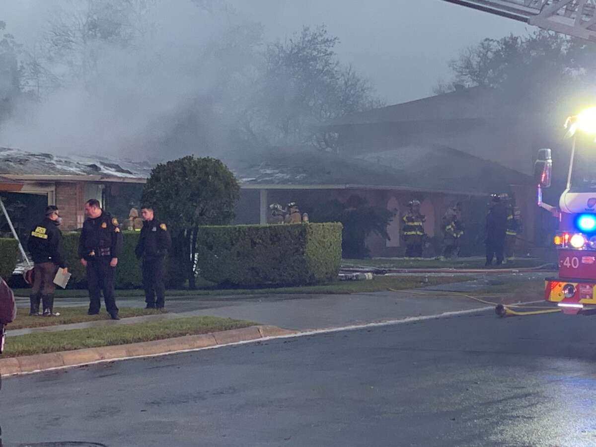 One person is dead after a gas leak potentially sparked a house fire on the Northeast Side early Wednesday morning.