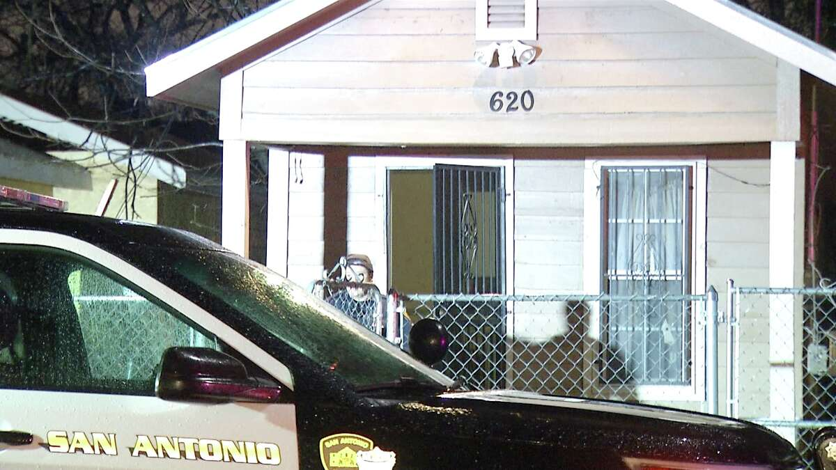 A San Antonio man was stabbed during a confrontation with his girlfriend's family early Wednesday, according to the San Antonio Police Department.
