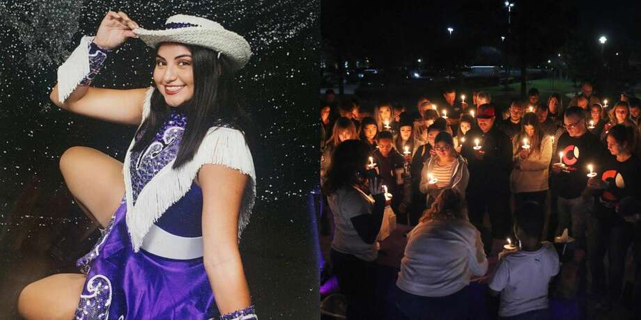 After Madelyn Marina Quiroz (left) was seriously injured in a major crash in Dayton, the community hosted a prayer vigil in support of the high school dancer. Photo: Title Slide