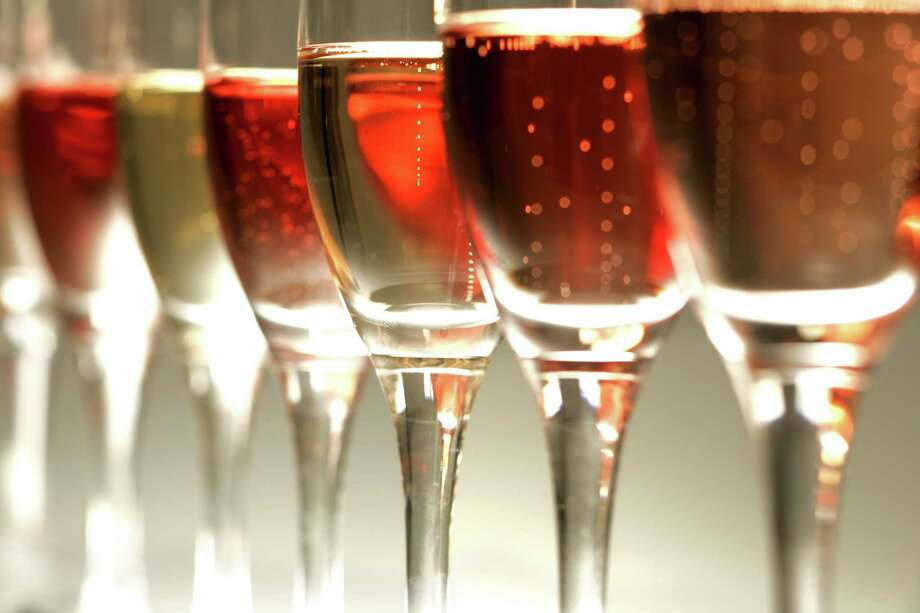 Try pink sparkling wine for Valentine's Day Photo: Craig Lee, SFC / The Chronicle