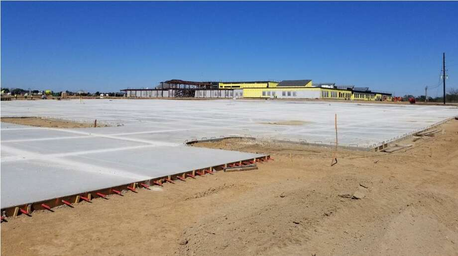 Grand Oaks Elementary School is expected to open in August. Photo: Courtesy Of Tomball ISD.