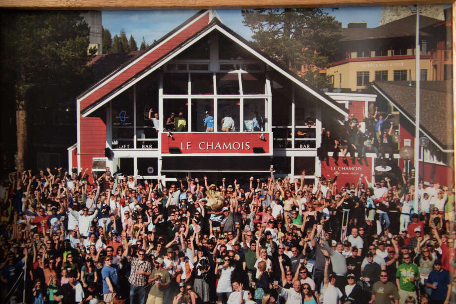 Located in Squaw Valley, Lake Tahoe, Le Chamois has served as a popular watering hole for skiers, snowboarders and locals alike. Photo: Blair Heagerty / SFGate