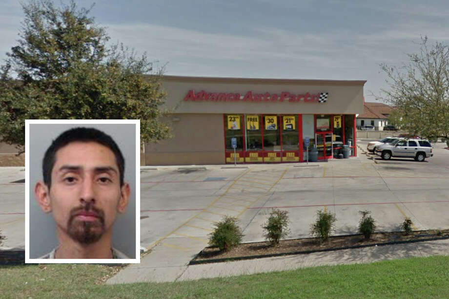 A man landed behind bars for an armed robbery reported at the Advance Auto Parts in north Laredo, authorities said. Photo: Courtesy