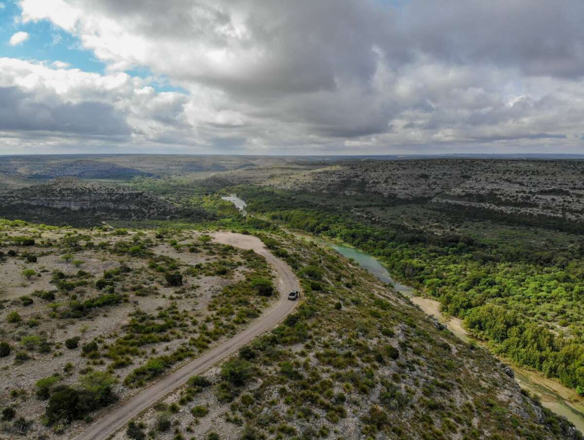Monarch Ranch, situated on the Devils River north of Del Rio, features deep canyons and the largest cave in the state by volume.