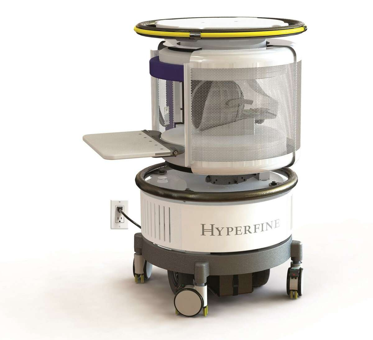 Hyperfine Research of Guilford has created a portable magnetic resonance imaging unit.