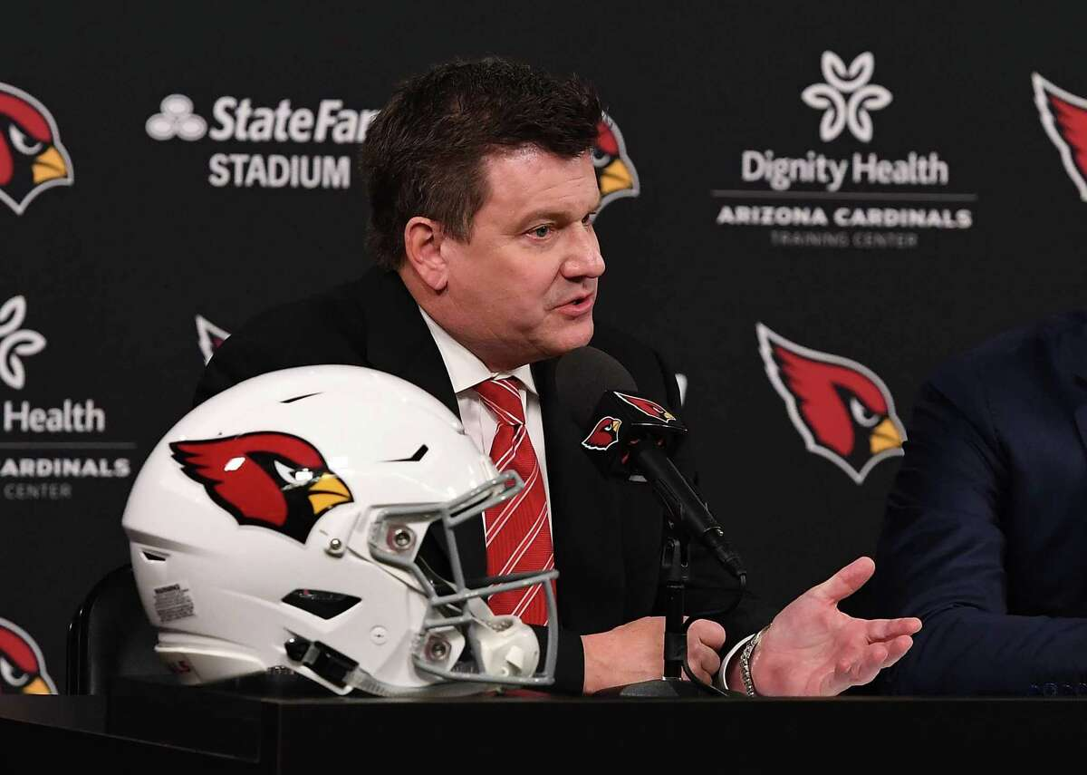 Arizona Cardinals: Michael Bidwill - Year acquired: 2019 Working as a Phoenix-based federal prosecutor for six years before moving to the NFL's oldest franchise as general counsel isn't a normal career path, but it was a natural fit for Michael Bidwill. The team has been in his family since his grandfather purchased what was then known as the Chicago Cardinals in 1933. Michael became president in 2007 and then chairman in 2019 following the passing of his father, Bill Bidwill. This slideshow was first published on theStacker.com