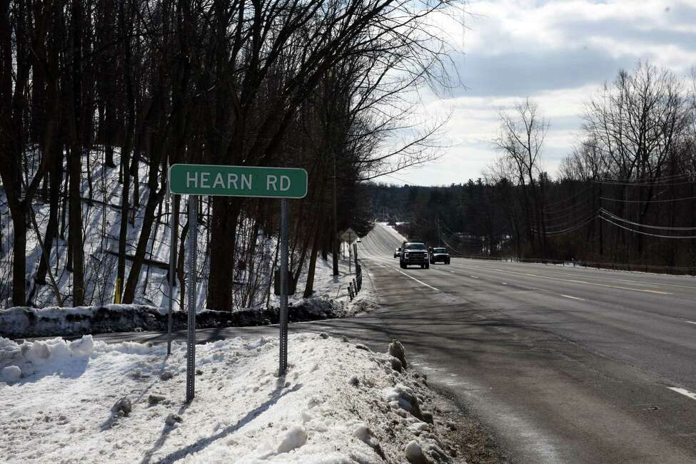 Hearn Road at Route 9 looking south on Wednesday, Feb. 12, 2020, in Malta, N.Y. (Will Waldron/Times Union)
