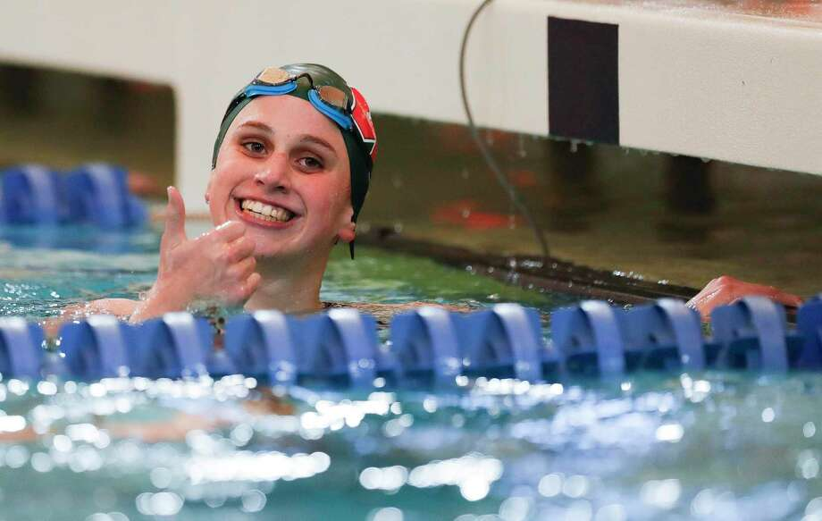 The Woodlands senior Lillie Nordmann is one of the top swimmers from Montgomery County competing at the state meet this weekend. Photo: Jason Fochtman, Houston Chronicle / Staff Photographer / Houston Chronicle © 2020