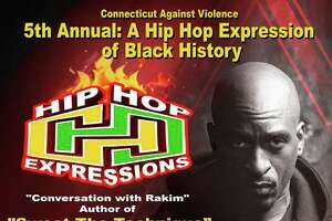 The fifth annual Hip Hop Expression of Black History will be held Saturday, Feb. 29, at the Margaret E. Morton Center, 999 Broad Street.