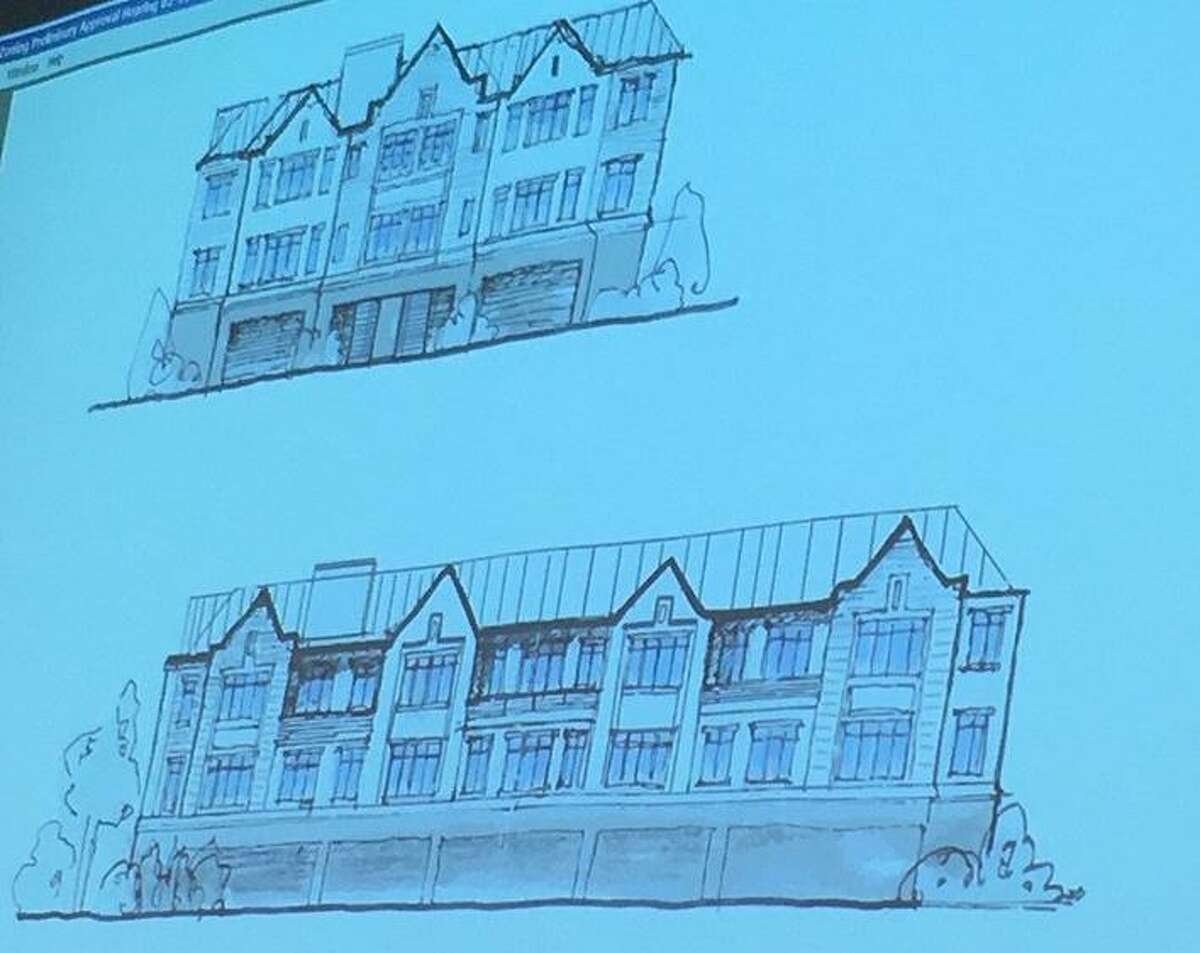 Modifications have been made to a proposed apartment building in Riverside.