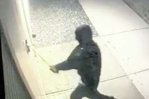 Middletown police have shared a video which shows the suspect in a robbery at the Greater Middletown Military Museum. Wearing a mask the individual used an ax to force entry into the building, authorities said.