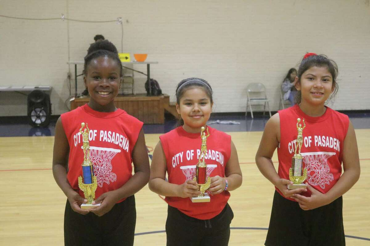 These three Rockets blasted off with the top trophies Saturday night. Nyla Babalola, Alexandra Alanis and Aileen Argueta earned the honors.