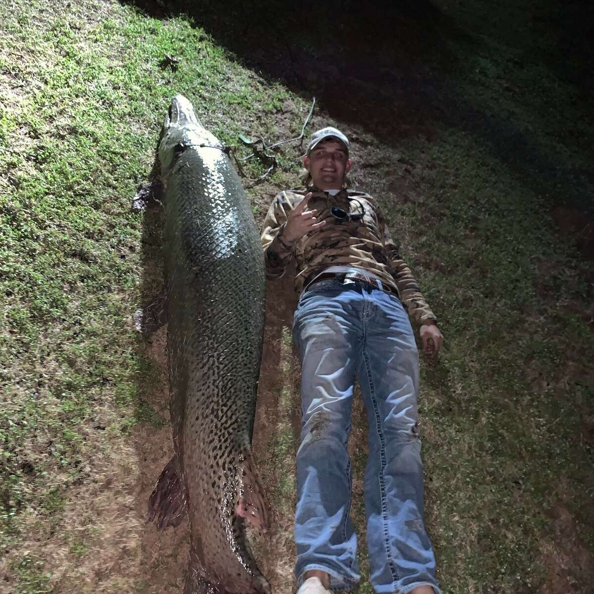 A teen from Needville recently caught a