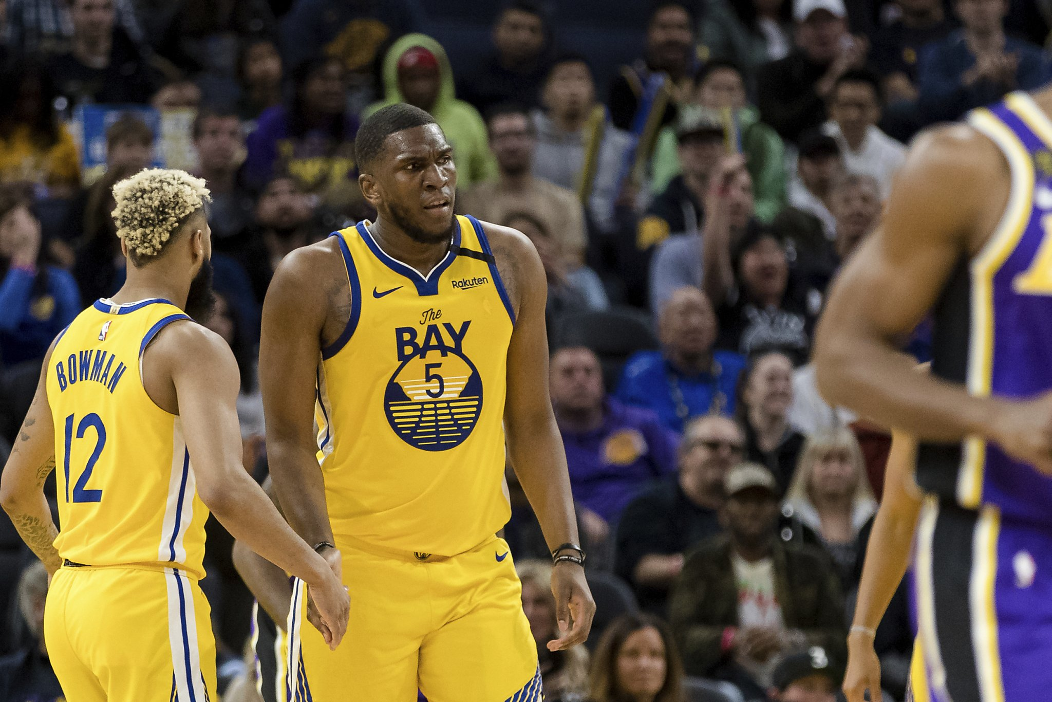 Warriors' Kevon Looney ruled out vs. Suns with hip injury