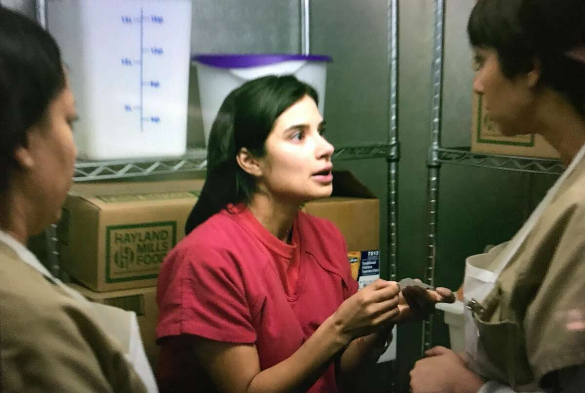 """Maritza, a character in Netflix's, """"Orange is the New Black,"""" is given the number to Freedom for Immigrants hotline in season 7, episode 5."""