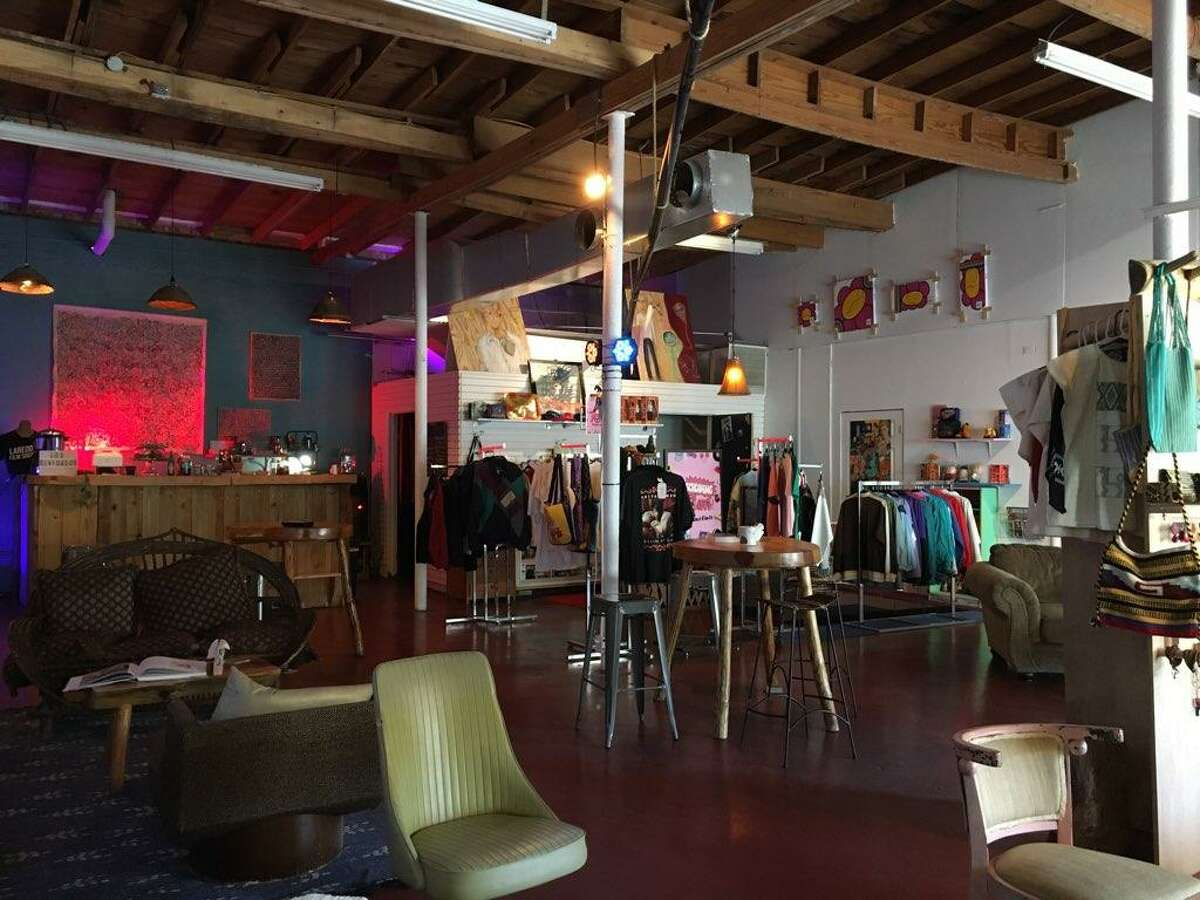 Downtown coffee shop Los Olvidados hosts art exhibits, music, and other social gatherings in their downtown space located at 309 Flores Ave.