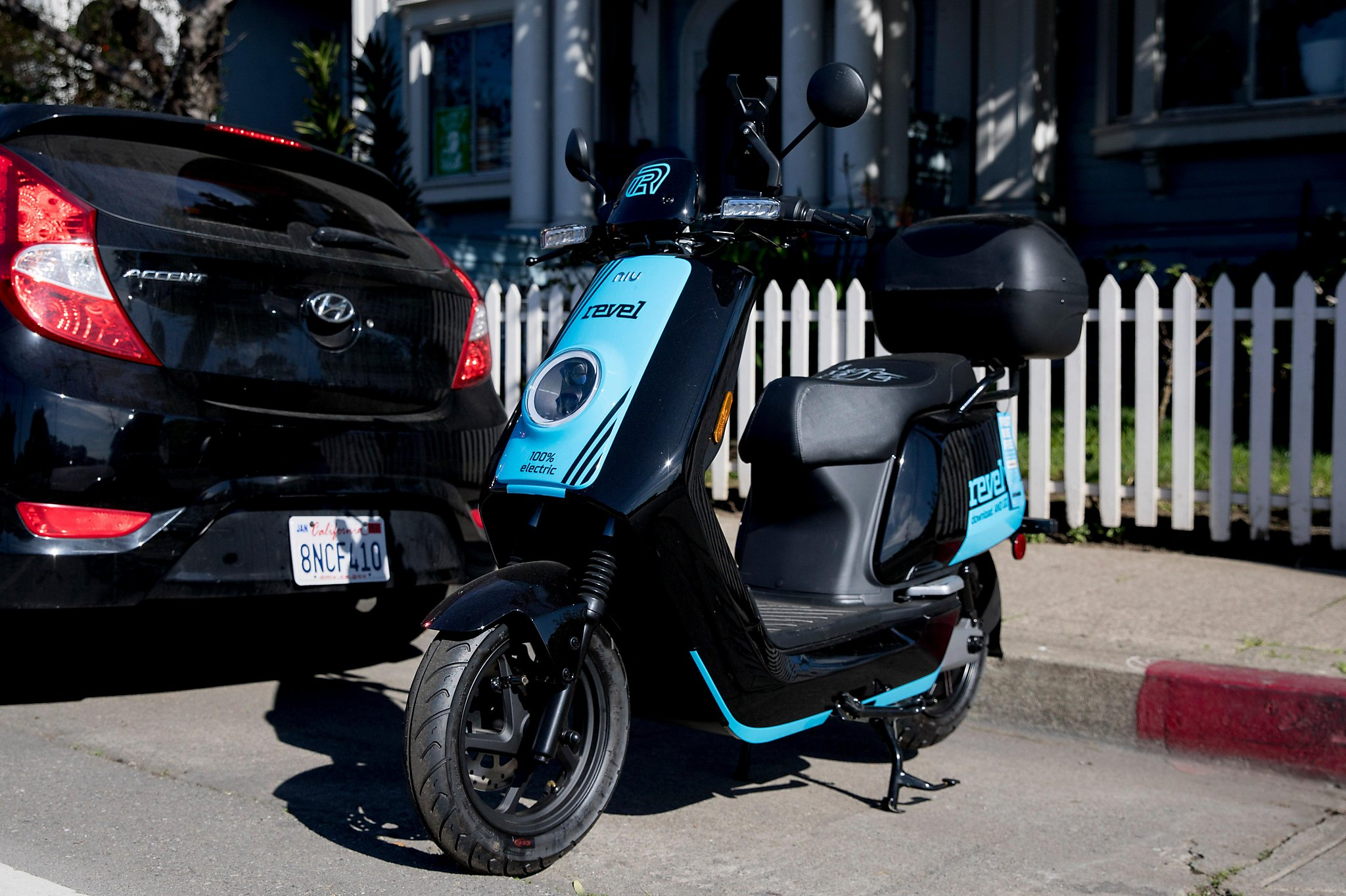 Oakland's mopeds are here - and boy are they being noticed