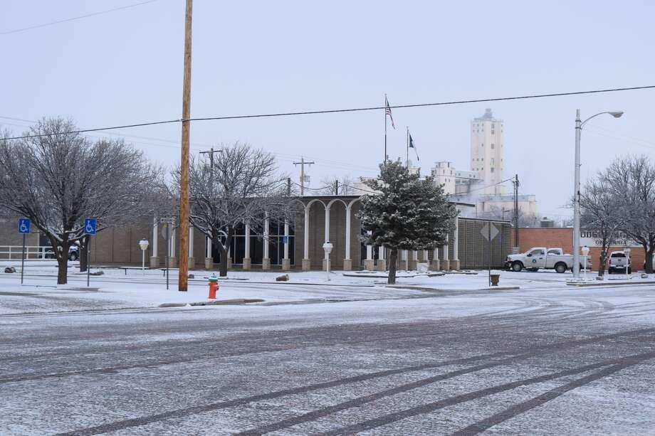 February 2020 Snow Photo: Ellysa Harris/Plainview Herald