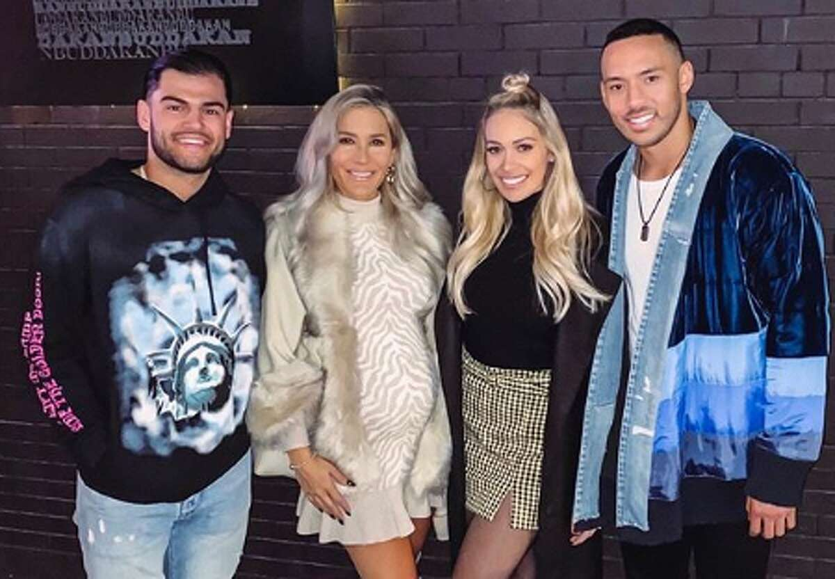 PHOTOS: How Astros players spent their offseason, according to their Instagram accounts As this photo from Lance McCullers' Instagram account shows, he and his wife Kara took a trip to New York with teammate Carlos Correa and his wife Daniella this offseason. Browse through these shots from Astros players' Instagram accounts to see what they were up to during the offseason ...