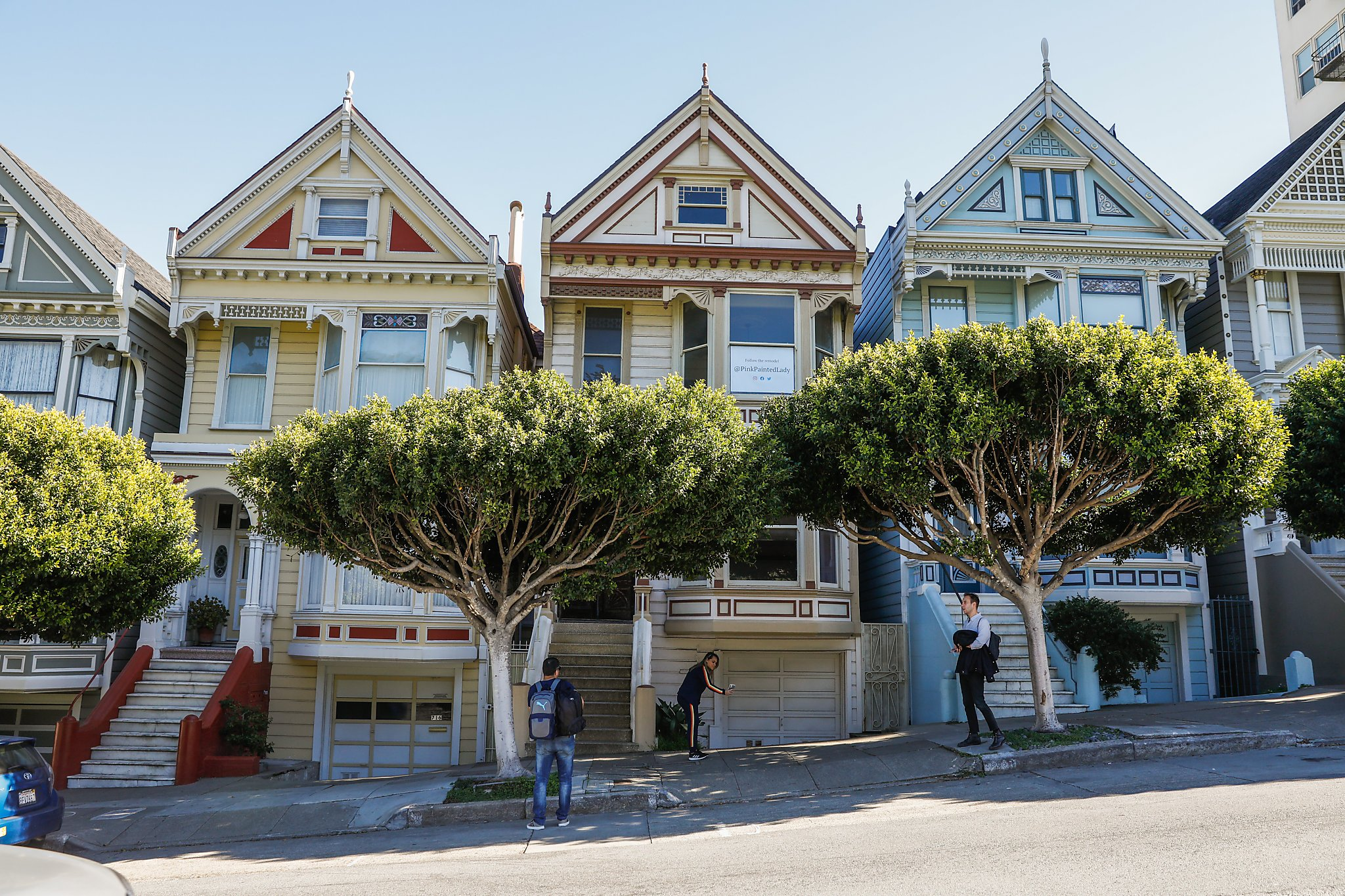 Inside The Pink Painted Lady The 3 5 Million Fixer Upper Sfchronicle Com