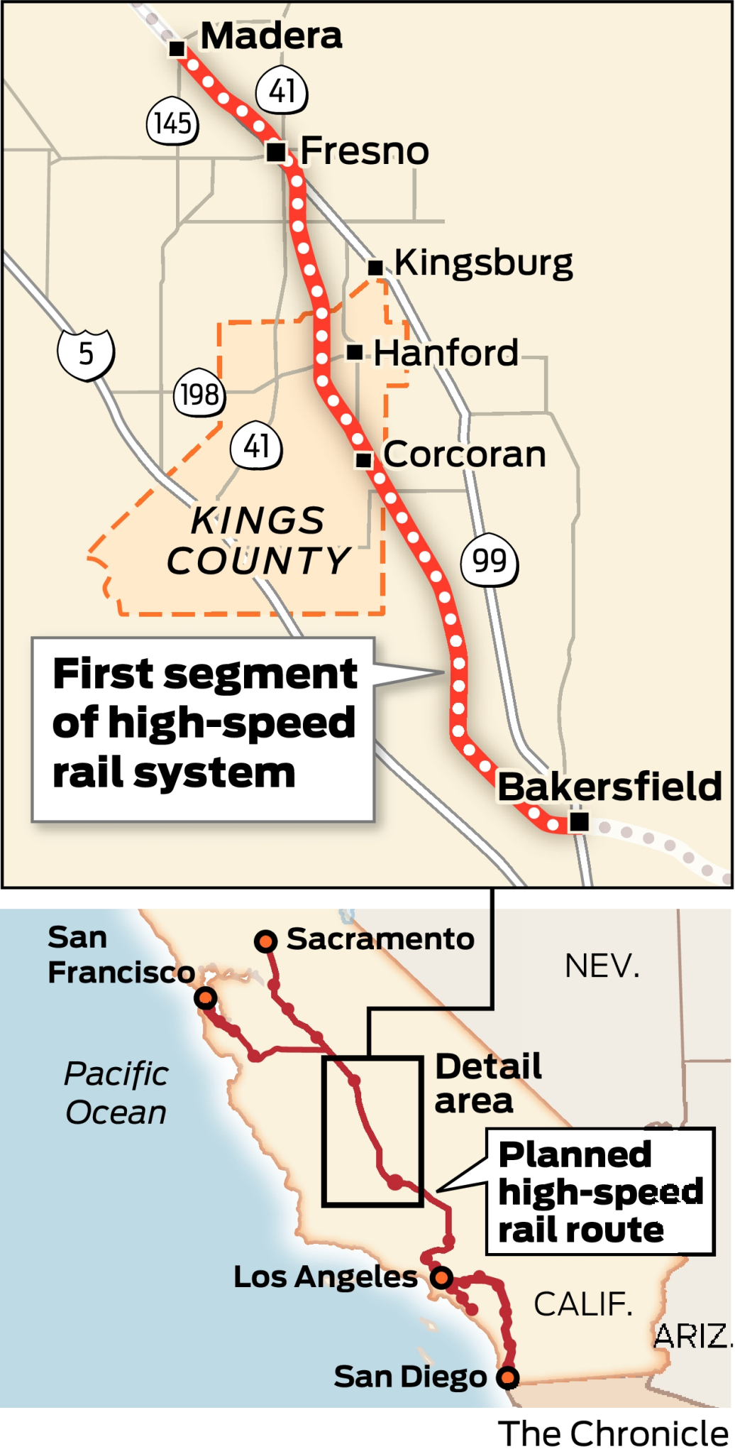 Cost of California's high-speed rail rises, but trains to SF, LA still in the works
