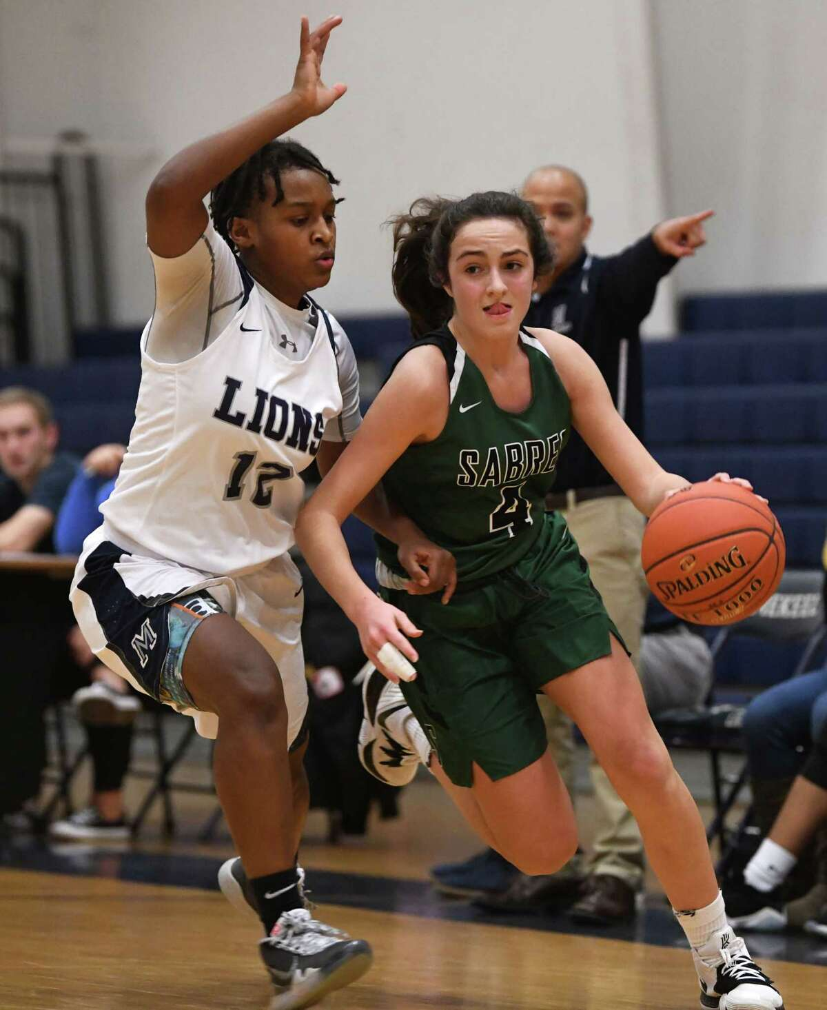"""Schalmont's Payton Graber, right, said """"I have been waiting for this for so long. I was so glad when I finally saw that,"""" about being able to start practicing on Feb. 1, pending county approval. (Lori Van Buren/Times Union)"""