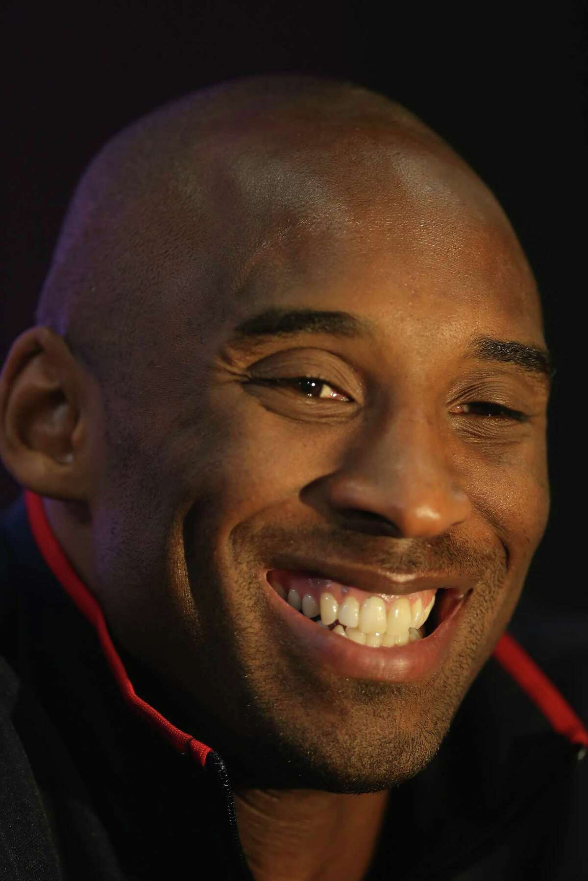 FILE - JANUARY 26, 2020: It's been reported that legendary basketball player Kobe Bryant has been killed in a helicopter crash in Calabasas, California. LONDON, ENGLAND - JULY 27: Kobe Bryant smiles during a press conference ahead of the London 2012 Olympics on July 27, 2012 in London, England. (Photo by Jeff Gross/Getty Images)