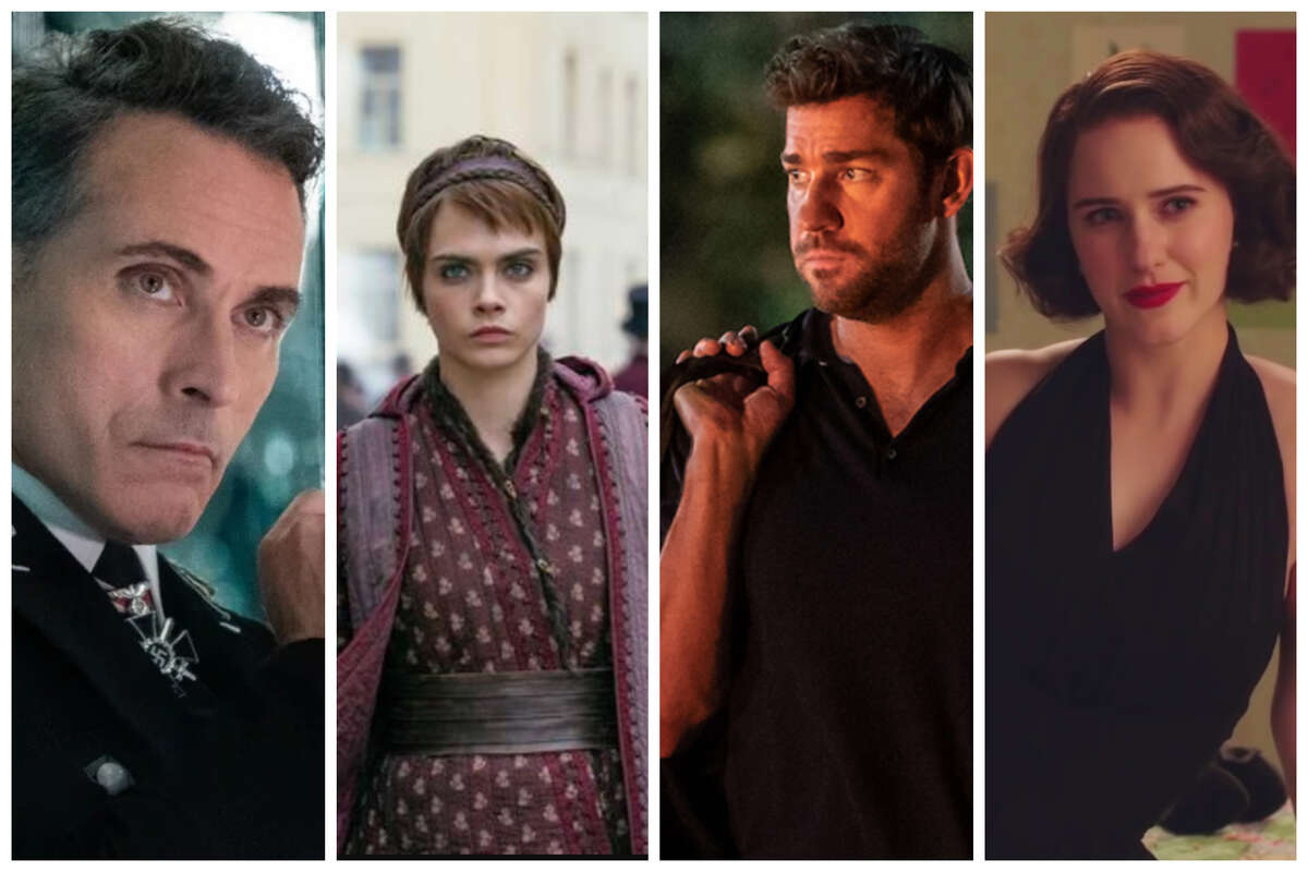 Various stills from Amazon Prime shows (pictured left to right): The Man in the High Castle, Carnival Row, Jack Ryan, and The Marvelous Mrs. Maisel.All were screened to select Amazon Prime members before being released on the platform.Click ahead to see 26 new TV shows debuting this year >>>