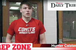 Hunter Caister is the Prep Zone Athlete of the Week